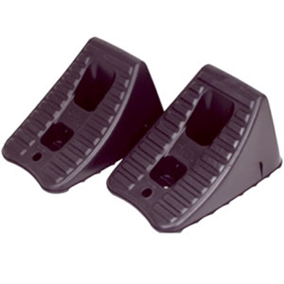 Picture of Hopkins FloTool 2-Set Grey Polypropylene Wheel Chock 11930MIE 69-9108