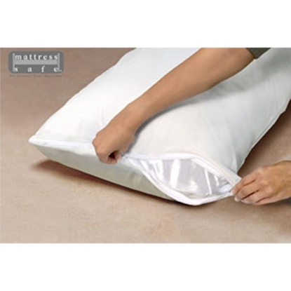 Picture of Mattress Safe Sofcover (R) Slate Gray Standard Pillow Safe Pillow Protector CWPS-STD SG 69-9279