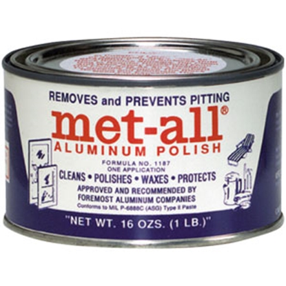 Picture of Met-All  1 lb Aluminum & Stainless Steel Metal Polish TC10 69-9326