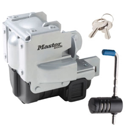 "Picture of Master Lock  2-5/16"" Steel Trailer Coupler Lock 3784DAT 69-9339"