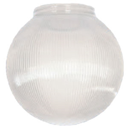 "Picture of Polymer Products  6"" White Prismatic Replacement Globe 3201-51630 69-9493"