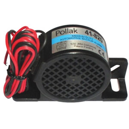 Picture of Pollak  12-24V Black Nylon Back Up Alarm 41-820 69-9529