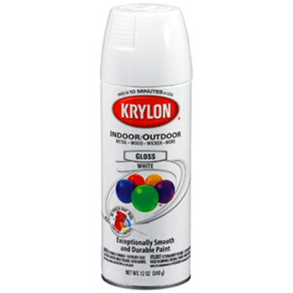 Picture of Krylon Krylon 12 Oz Spray Can Gloss White Paint 51501 69-9770