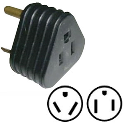 Picture of Surge Guard Surge Guard (R) 30M/15F Power Cord Adapter 09522TR08 69-9928