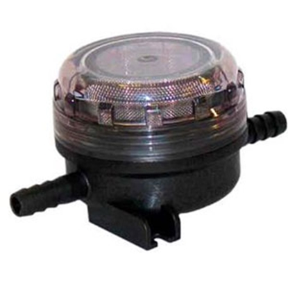 "Picture of Flojet  3/8"" x 3/8"" Hose Barb Fresh Water Pump Strainer For Flojet 01740003A 70-4215"