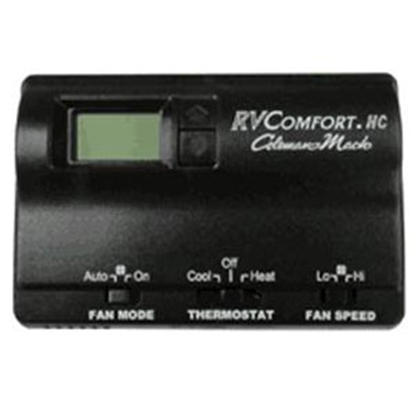 Picture of Coleman-Mach  Black Single Stage Heat Digital Wall Thermostat 8530-3481 70-8893