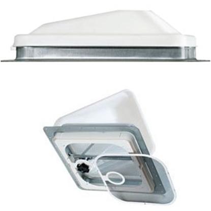 "Picture of Ventline  White 14.25""x14.25"" Roof Vent V2092-501-00 71-0017"