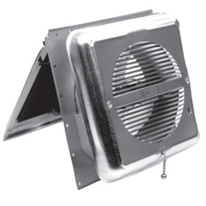 Picture of Ventline  Mill Finish 110V Sidewall Mount Exhaust Fan V2215-11 71-0022