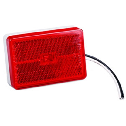 "Picture of Wesbar  Red 2.62""x0.83""x1.83"" LED Side Marker Light 47-222014 71-0027"