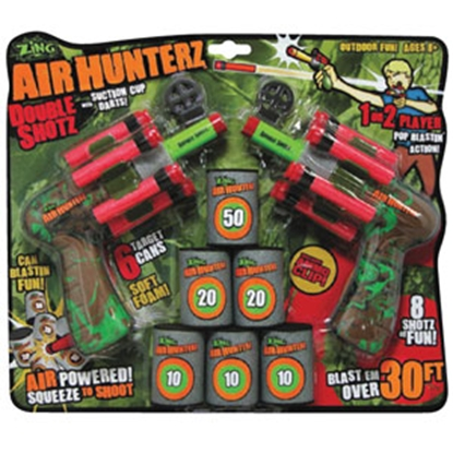 Picture of Zing Toys  Air Hunterz Double Shotz Toy AH174 71-0091