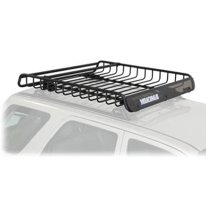 """Picture of Yakima MegaWarrior 35 Lb 52"""" x 48"""" x 6.5"""" Roof Mounted Cargo Basket 8007080 72-0701"""