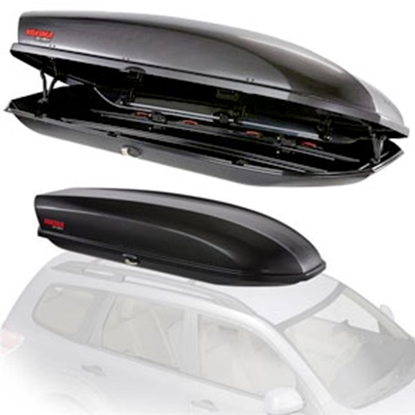 """Picture of Yakima Skybox 21 62 Lb 92"""" x 36"""" x 18""""  Roof Mounted Cargo Box 8007337 72-0703"""