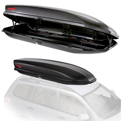 """Picture of Yakima Skybox 18 52 Lb 92"""" x 36"""" x 16""""  Roof Mounted Cargo Box 8007336 72-0704"""