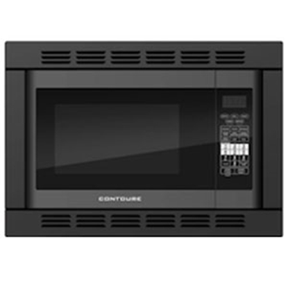 Picture of Contoure  1.2 CF 1000W Black Microwave w/Trim Kit RV-185B-CON 72-1386