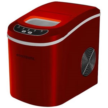 Picture of Contoure  Red Portable 120V/15A 2lb Capacity Compact Ice Machine RV-130R 72-1388