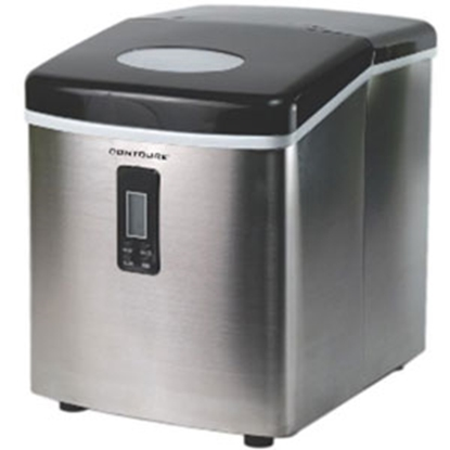 Picture of Contoure  Stainless Steel Portable 120V/15A 1.8lb Capacity Ice Machine RV-150SS 72-1392