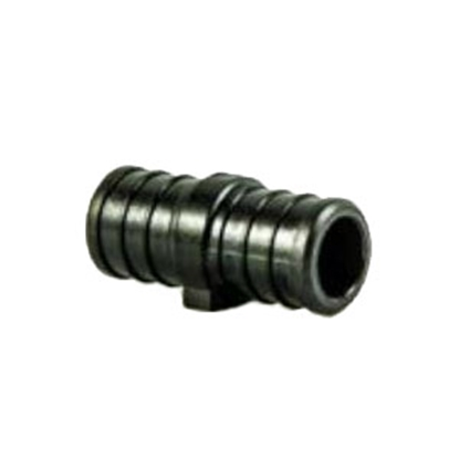 "Picture of EcoPoly Fittings BestPEX 3/8"" PEX Black Plastic Fresh Water Straight Fitting 28855 88-9263"