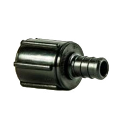 "Picture of EcoPoly Fittings EcoPoly 1/2"" PEX x 1/2"" FPT Swivel Nut Polysulfone Fresh Water Straight Fitting 28873 88-9279"