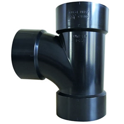 "Picture of Valterra Drain-Waste-Ventilation 1-1/2"" Hub Wye Waste Valve Fitting D50-2822 89-8346"