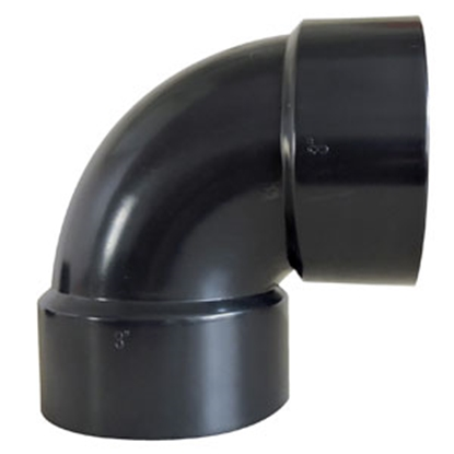 "Picture of Valterra Drain-Waste-Ventilation 1-1/2"" Hub 90 Deg Short Turn Waste Valve Fitting D50-2876C 89-8350"