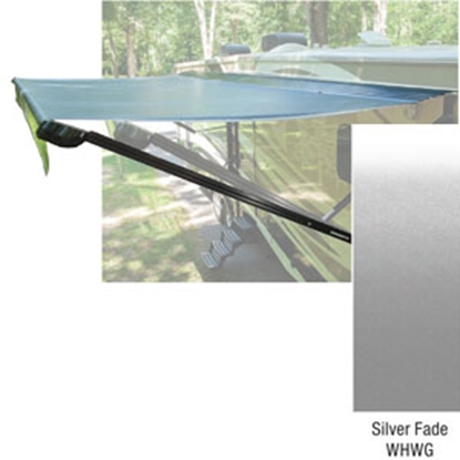 Picture of Lippert Solera 10' w/ 8' Ext Silver Fade W WG Vinyl Solera Patio Awning V000307065 90-2016