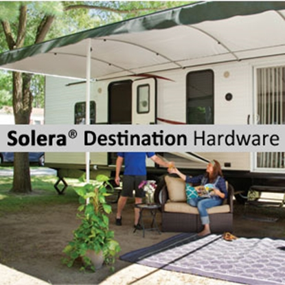 Picture of Lippert Solera Destination Satin Adjustable Pitch Manual Awning Arm Set V000334720 90-2129