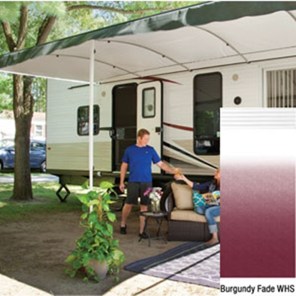 "Picture of Lippert Solera Destination 16' w/ 9' 8"" Ext Burg Fade W Shield Solera Destination Patio Awning V000334857 90-2163"