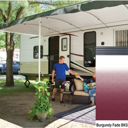 "Picture of Lippert Solera Destination 16' w/ 9' 8"" Ext Burg Fade B Shield Solera Destination Patio Awning V000334859 90-2164"