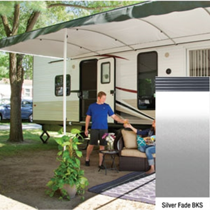 "Picture of Lippert Solera Destination 16' w/ 9' 8"" Ext Silver Fade B Shield Solera Destination Patio Awning V000334864 90-2167"