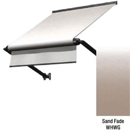 "Picture of Lippert Solera Sand Fade 54"" White XL Window Awning V000335257 90-2482"