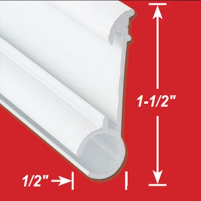 Picture of AP Products  Colonial White 8' Insert Awning Rail 021-51004-8 91-9460