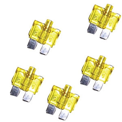 Picture of Battery Doctor  5-Pack ATO Blade Fuse Assortment 24400 94-0653