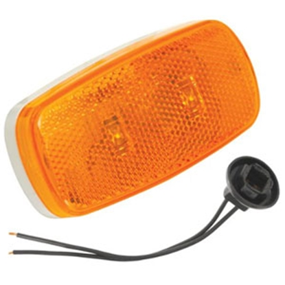 Picture of Bargman  Amber Clearance Light w/ Pigtail 47-59-402 94-0822