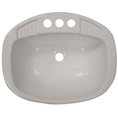"Picture of Lasalle Bristol  White 16"" x 20"" Plastic Lavatory Sink 16270PW 94-9097"
