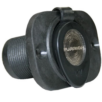 Picture of Furrion  Black 12V Indoor Single Receptacle 381727 95-3534