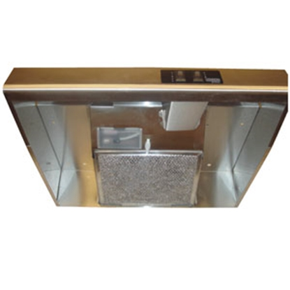 "Picture of Heng's  20"" Black Ductless Range Hood R045A3800-C1 95-3550"