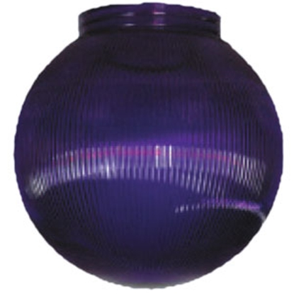 "Picture of Polymer Products  6"" Purple Prismatic Replacement Globe 3215-51630 95-5211"