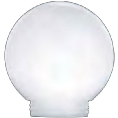 "Picture of Polymer Products  6"" White Smooth Replacement Globe 3201-50630 95-5416"