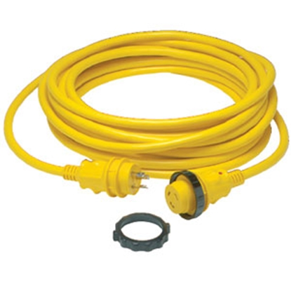 Picture of Marinco Power+Plus 50' 30A Locking Extension Cord 50SPP.RV 96-2517