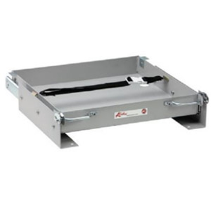 "Picture of Kwikee  24""L x 15-13/16""W x 3-3/16""H Steel Battery Tray for 1-8 Batteries 366329 97-1020"