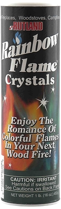 Picture of Rutland Rainbow Flame Crystals Campfire Colorant 03-2121 715