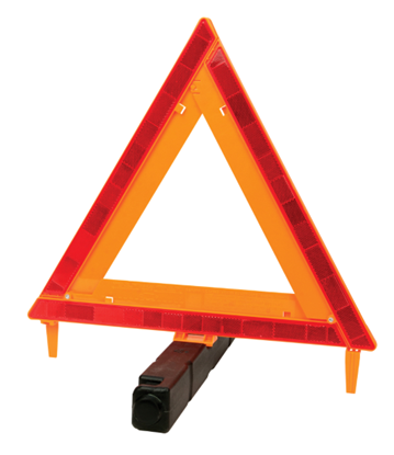 Picture of Performance Tool Plastic Safety/Warning Triangle D.O.T. Approved 71-4683 W1499
