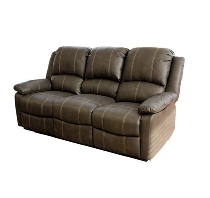 Picture of Thomas Payne Heritage Walnut Motion Theater Triple Recliner Seating
