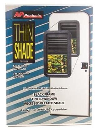 Slim Shade RV Door Window Kit - 015-201512